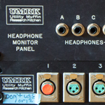 UMRK Headphone Panel
