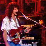 Frank Zappa and his Gibson SG
